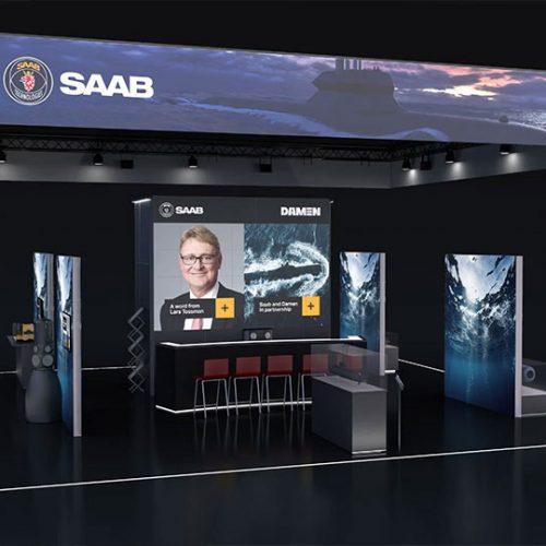 The Saab virtual booth